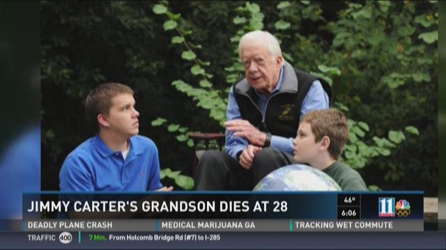 Jimmy Carter's grandson dies at 28