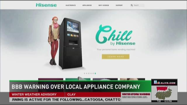 BBB warns about local tech company