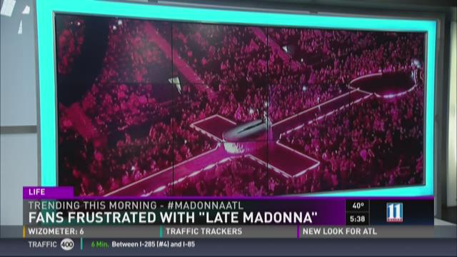 Fans frustrated after Madonna keeps them waiting for hours