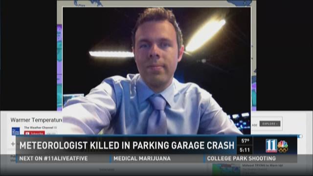 weather channel meteorologist dies in crash