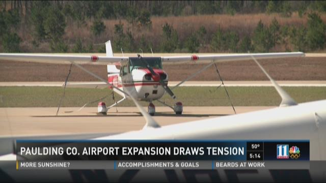 Paulding Co. airport expansion draws tension