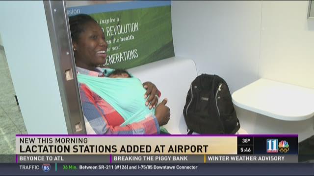 Atlanta's airport adds lactation stations