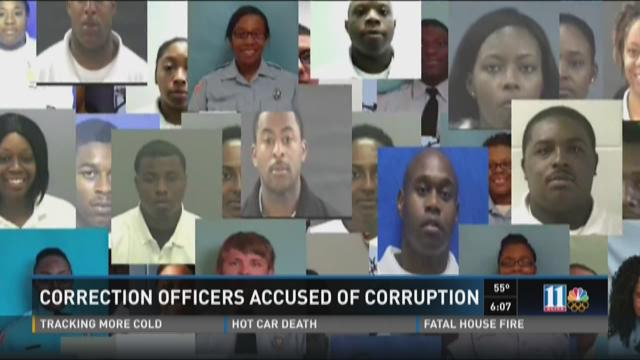 Ga  corrections officers accused of taking bribes, drug
