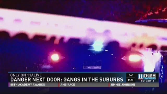 Gangs in the 'burbs