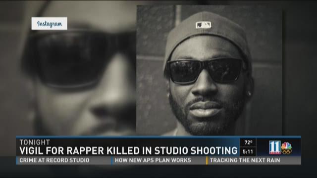 Atlanta rapper killed outside studio in overnight shooting