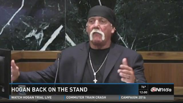 Hulk Hogan back on the stand Tuesday