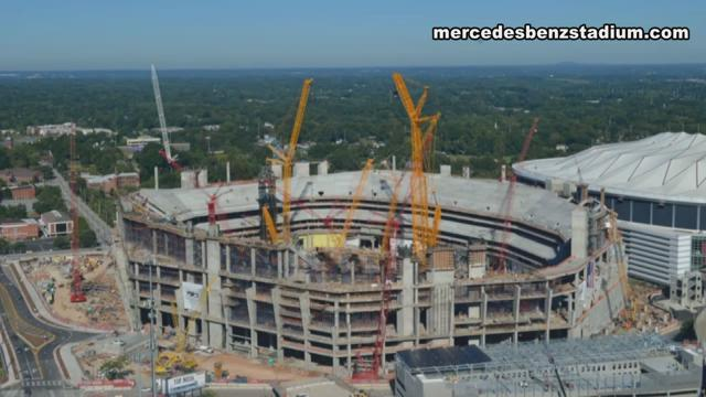 Countdown To Fsu Alabama Fsu Reps Tour Mercedes Benz Stadium