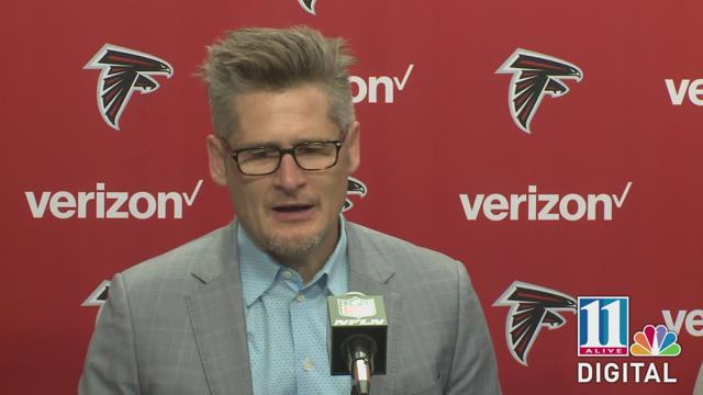 Atlanta Falcons head coach Dann Quinn and General Manager Thomas Dimitroff talk about the upcoming NFL Draft.
