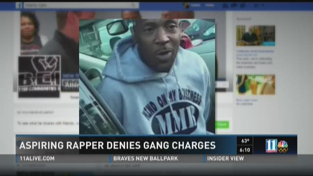 Aspiring rapper denies gang claims