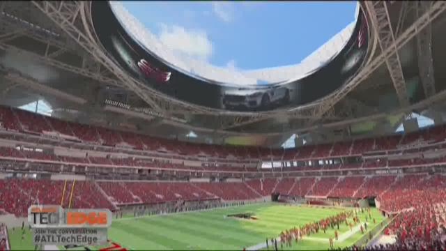 World 39 s largest bird statue to be built in for Mercedes benz stadium falcon statue