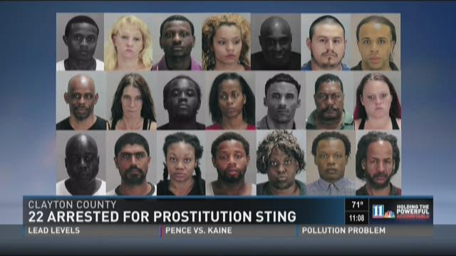 prostitute sting operation