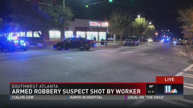 Police: Atlanta Family Dollar employee shoots armed robber