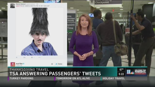 TSA answers passengers' questions and things get weird