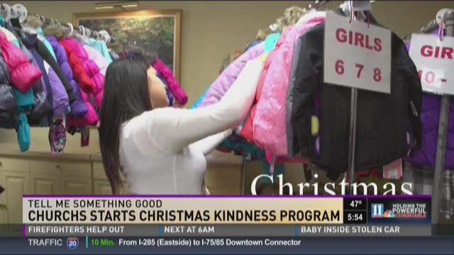 Church helps Atlanta's working poor give Christmas to their children