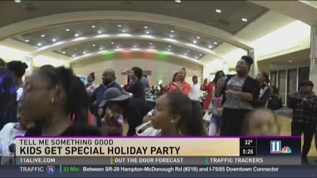 Horizons Atlanta throws Christmas party for special students