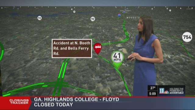 Tracking road problems on your Monday morning commute