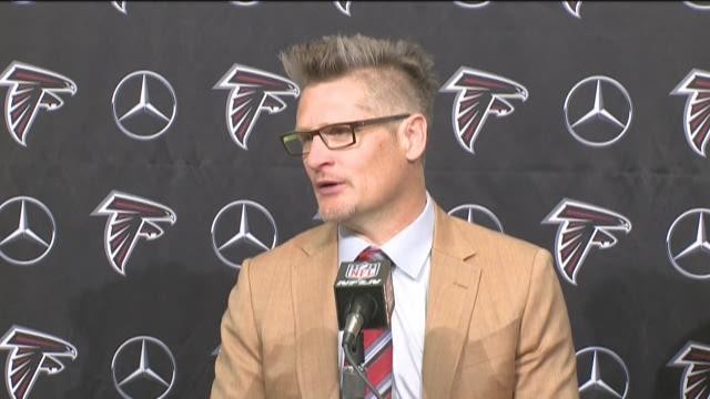 VIDEO: Thomas Dimitroff explains trade possibilities for Falcons