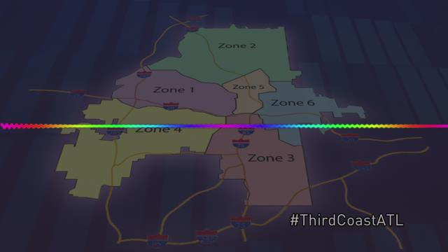 Thirdcoastatl Atlanta S Zones Where You Re From Is Where You Rep