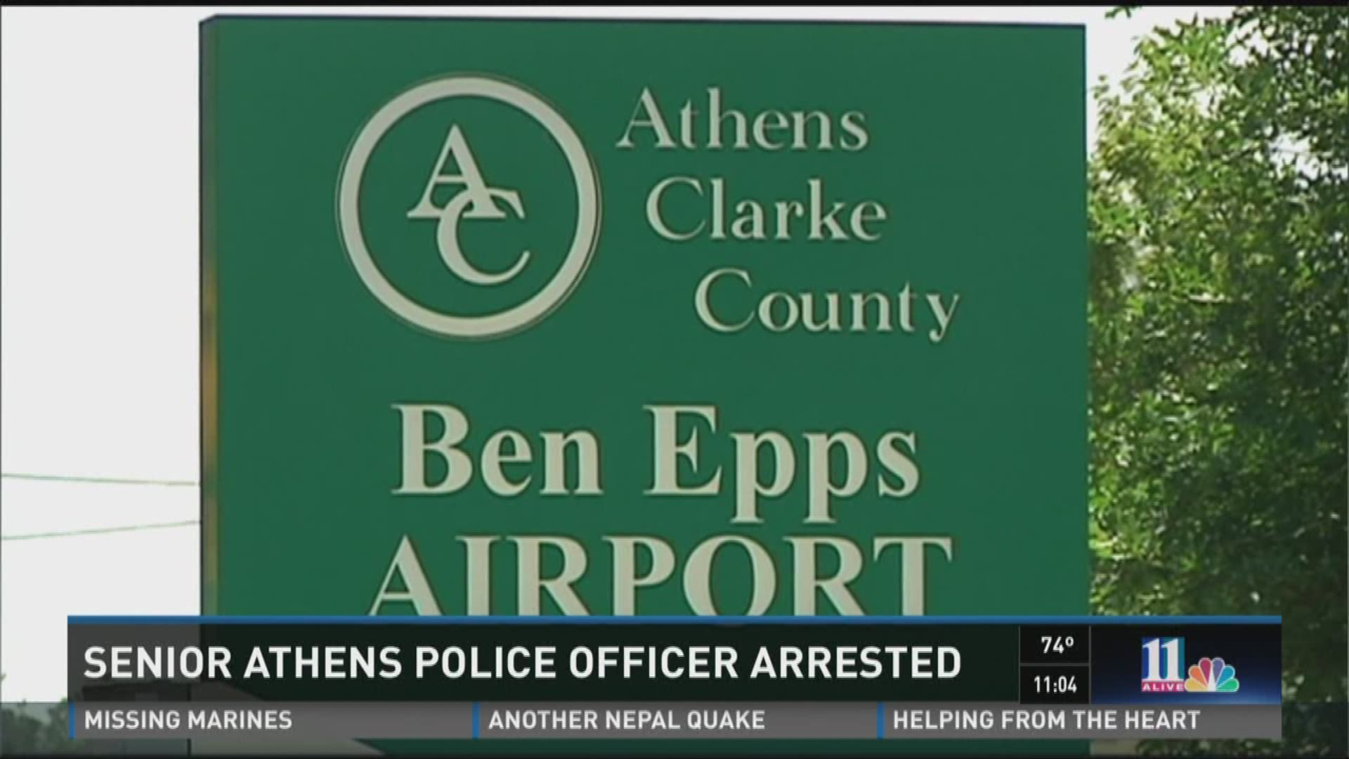 Athens Clarke Co  officer arrested for molesting a child