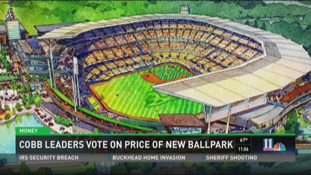 Cobb leaders vote on final price of new ballpark