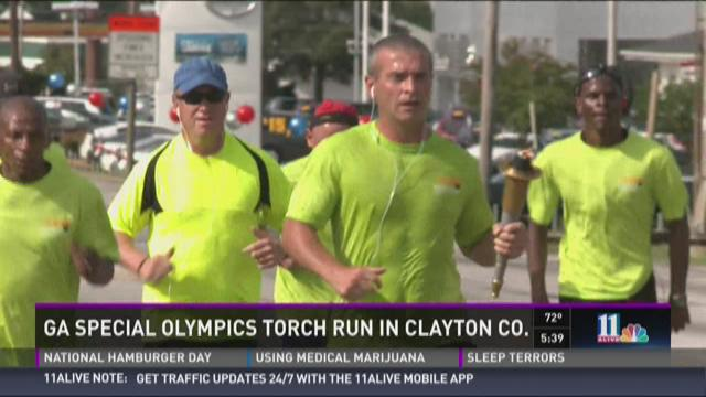 Ga. Special Olympics Torch Run in Clayton Co.