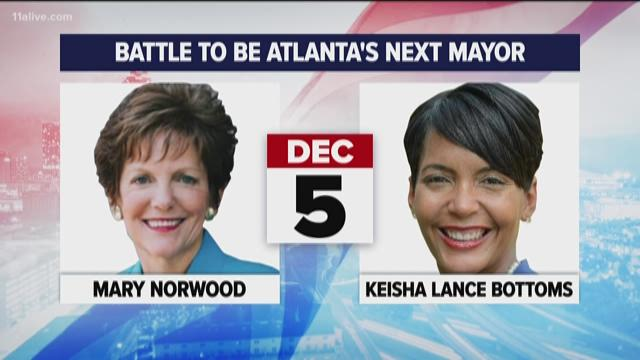 Polls close! Atlanta chooses 60th mayor in history