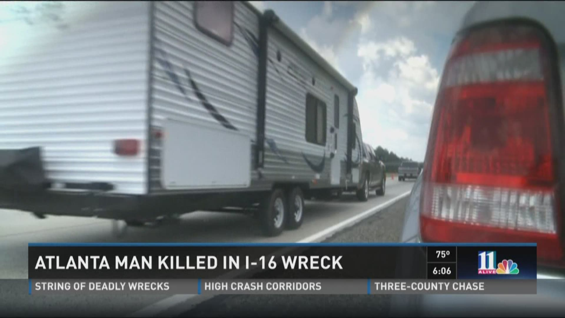 Atlanta, north Ga  residents among three dead in I-16 accident