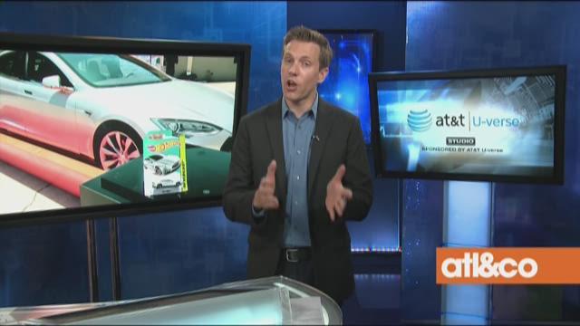 Tesla Hot Wheels
