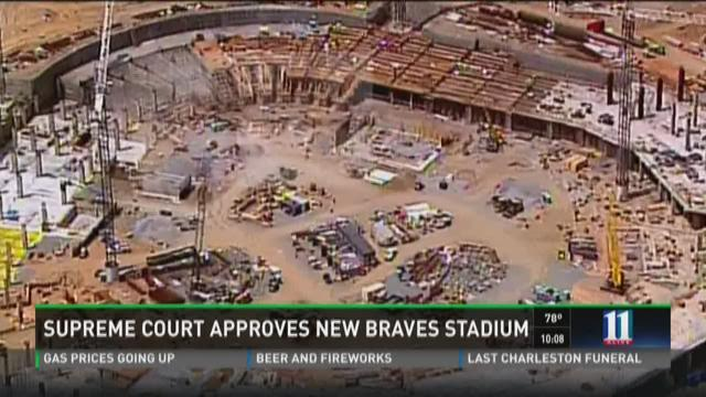 Georgia Supreme Court Approves Cobb Co. Braves Stadium Deal