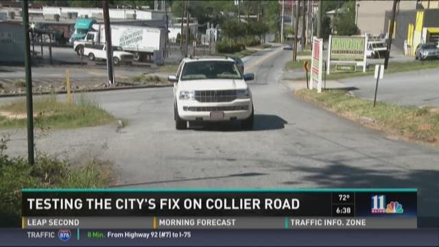 Testing fix on Collier Road