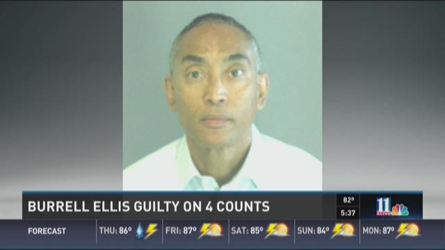 Analysis: Burrell Ellis guilty on 4 of 9 counts