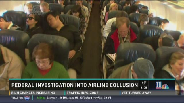 Major airlines investigated for collusion