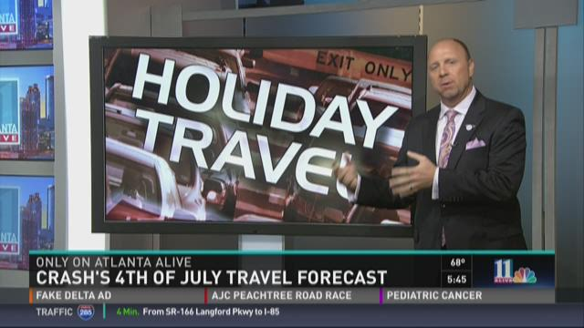 Your July 4 travel forecast