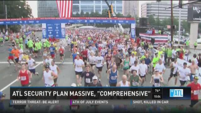 Atlanta security plan massive and 'comprehensive'