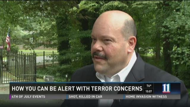 How you can be alert with terror concerns