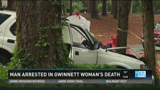 Man arrested in Gwinnett woman's death