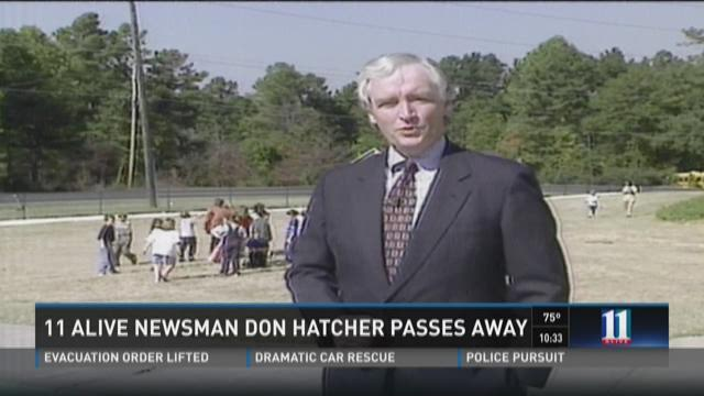 11Alive newsman Don Hatcher passes away