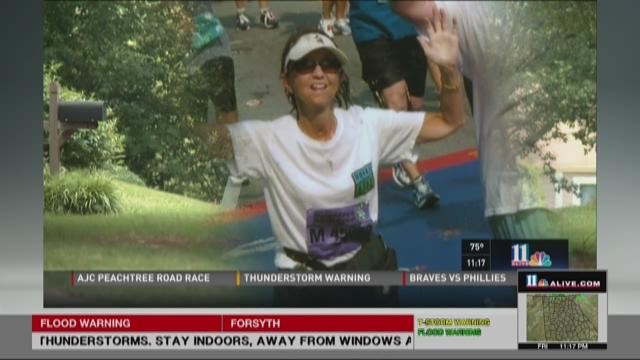 AJC Peachtree Road Race: Double lung transplant recipient runs with purpose