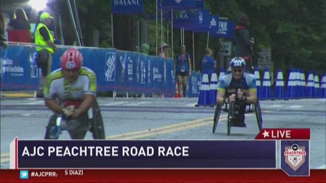 AJC PRR women's wheelchair winner