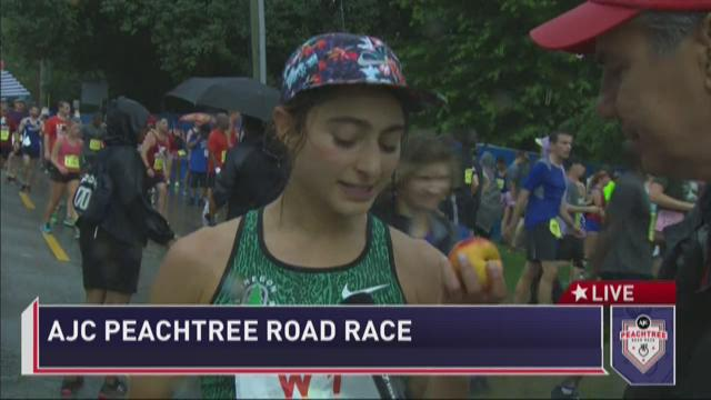 AJC Peachtree Road Race women's race