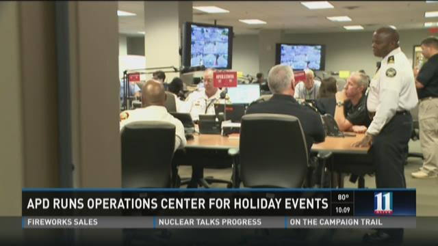 Atlanta PD operations center ready for holiday events