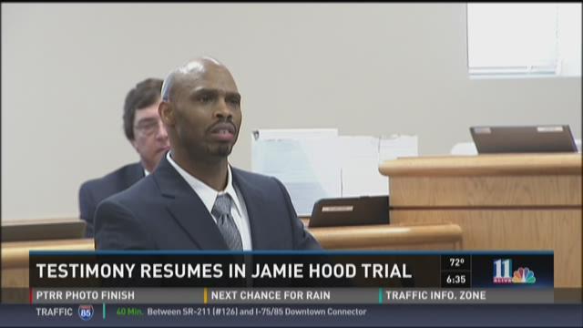 Testimony continues in Jamie Hood trial