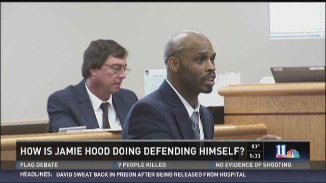 Analysis: How is Jamie Hood doing defending himself?