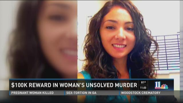 $100K reward offered in woman's unsolved murder