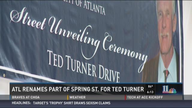 Leaders across Atlanta came together Tuesday to honor the media mogul.