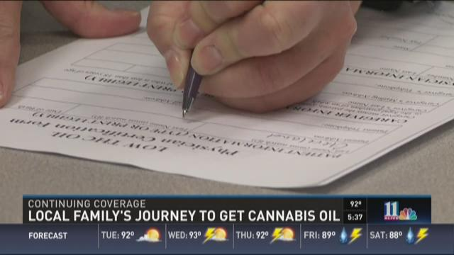 Local family's journey to get cannabis oil
