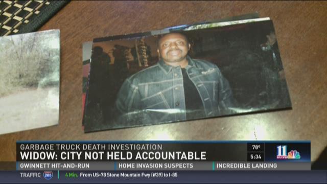 Widow wants City of Atlanta held accountable