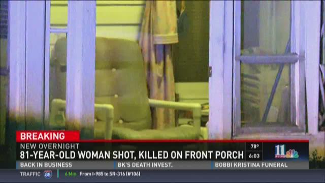 Mildred Martin was shot to death on a porch in northwest