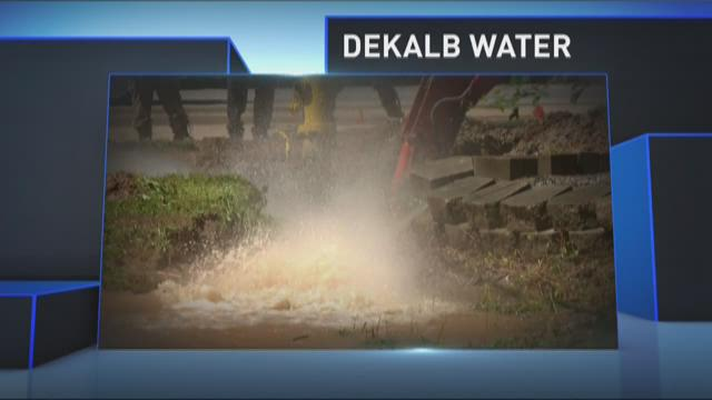 DeKalb County responds to water problems
