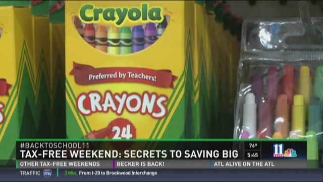 Save big during tax-free weekend
